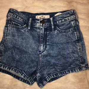 Jean shorts! High waisted